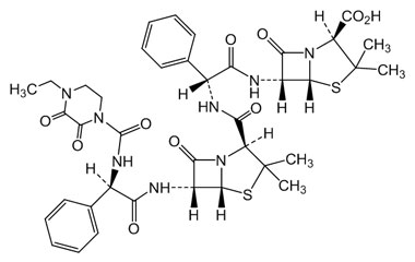 Product Name : (4S)-2-(Carboxy((R)-2-(4-ethyl-23-dioxopiperazine-1-carboxamido)-2