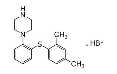 CAS No : 960203-27-4 Product Name : Vortioxetine Hydrobromide - API Chemical Name