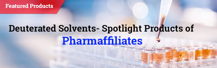Deuterated Solvents- Spotlight products of Pharmaffiliates